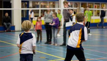 Badminton jeugd competitie hengelo