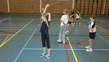Bad-mini-ton jeugd badminton